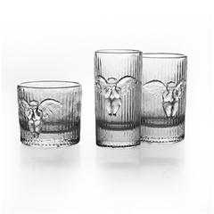 稀奇艺术 x K11 时光倒流系列天使浮雕玻璃杯 3只套装