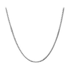 圆形光片银925项链