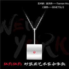 【预售】周大福x纽约纽约 微热-BINENTSU 艺术跨界项链(9月10日开始发货)