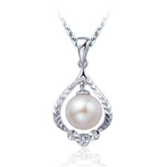 银925镶珍珠吊坠