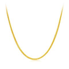 周大福时尚肖邦链K金链18K金钻石项链