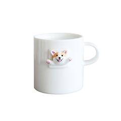 三浅陶社 x K11创意可爱日式咖啡杯(饮水基)马克杯