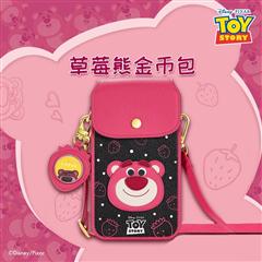 周大福 迪士尼玩具总动员系列 草莓熊金币包包