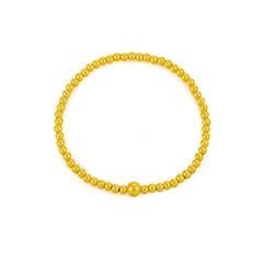 周大福×两世欢 传承系列 黄金足金手链珠链