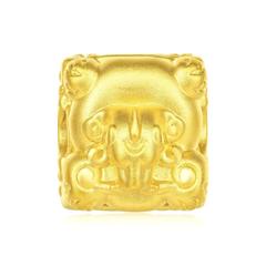 周大福JEWELRIA 故宫百宝阁系列 方印黄金戒指