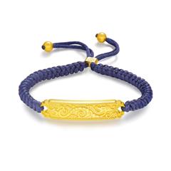 周大福JEWELRIA 故宮百寶閣系列 龍鳳呈祥足金黃金手鏈