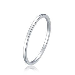【预售】周大福 女神系列 精致白色18K金戒指(将于4月30日前发货)