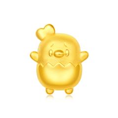 周大福×同道大叔 窩窩雞黃金足金轉運珠