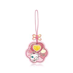 【电商专款】周大福CoCo Cat系列可爱心形足金黄金金币