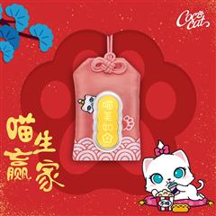周大福 CoCo Cat系列 貌美如花御守足金金币金章