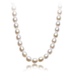 太阳花银925镶珍珠项链