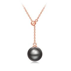 周大福時尚18K金南洋珍珠項鏈