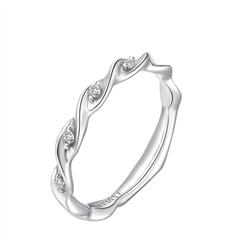 SOINLOVE绣球花系列铂金镶钻戒指钻戒女VU65小礼品